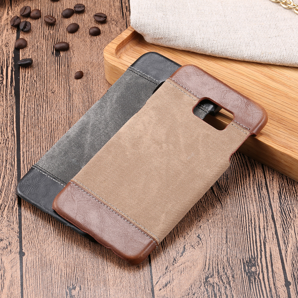 S7 S6 Luxury Jeans Pattern Back Cover For Samsung Galaxy S6 S7 Edge Plus Quality Phone Case for sansung sumsung galaxie galaksi