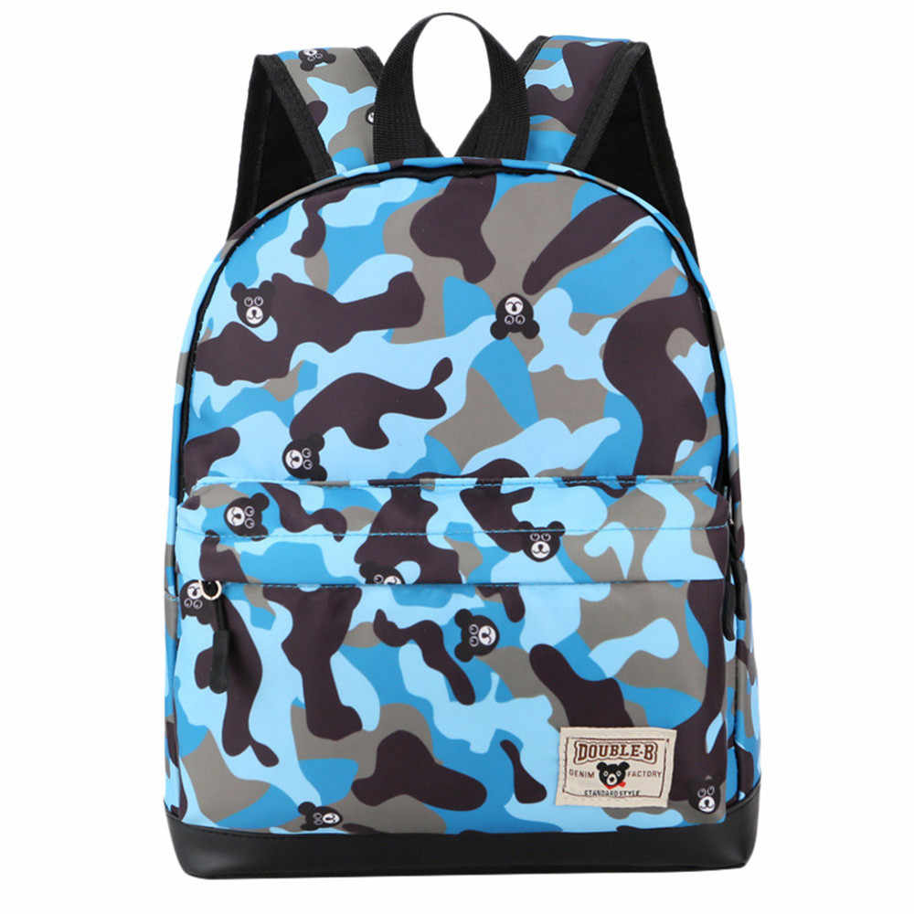 a2648b921500 Detail Feedback Questions about Teenagers Camouflage Backpacks Children  Baby Boys Girls Pattern Print Backpack Toddler School Bags Casual Daypack  In ...