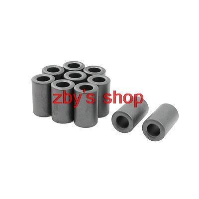 10pcs 17x9.5x28.5mm Inductors Filters Coils Toroidal Ferrite Cores Dark Gray