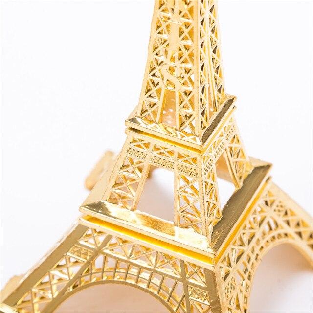 Golden Eiffel Tower Decor  3