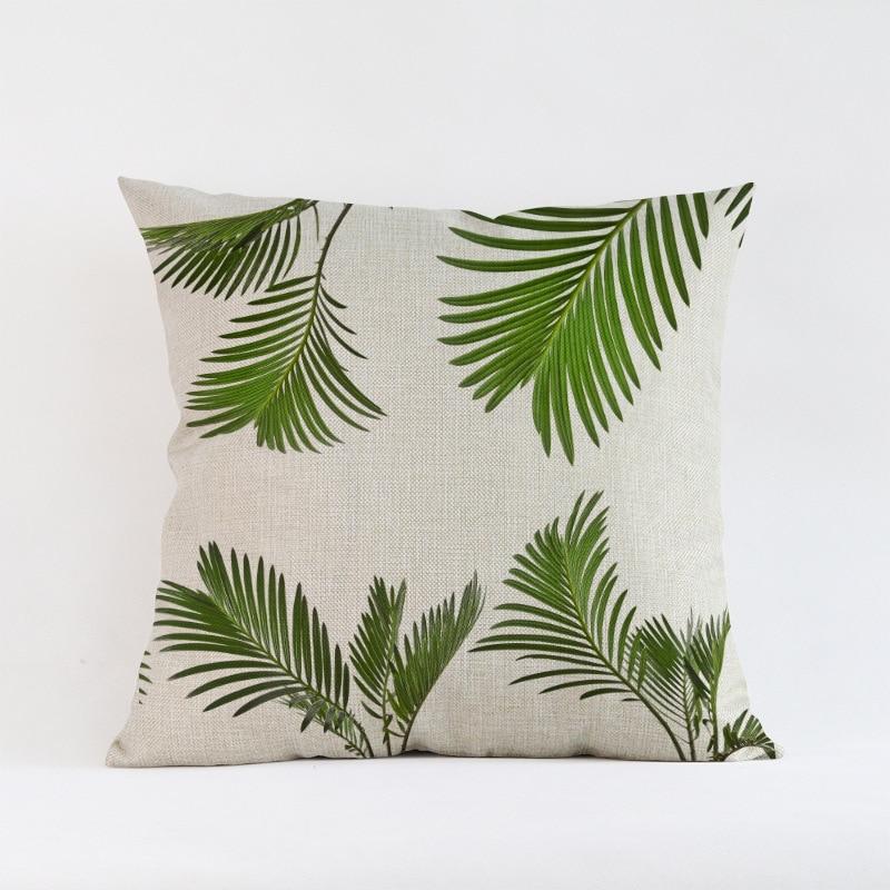 Ventas calientes Hojas verdes planta de follaje Creativo Patrón de - Textiles para el hogar - foto 5