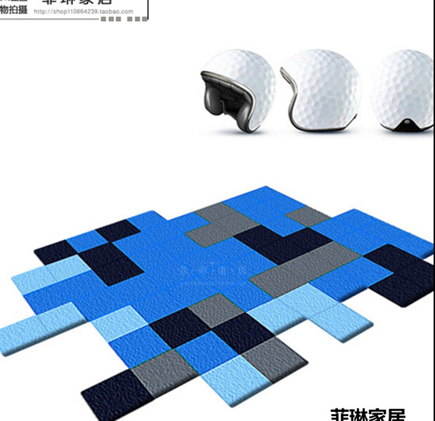 Современные ковры ручной работы для гостиной, спальни, модный креативный журнальный столик, диван, инопланетянин, индивидуальность, тренд, ковер на заказ
