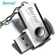 Bernal paslanmaz çelik mini kalem sürücü 32GB 64GB pendrive yüksek hızlı USB Flash 2.0 sürücü flash disk 16gb usb Flash sürücü