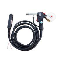16 Feet Euro Adpator MIG Spool Gun Push Pull Feeder Aluminum Welding Torc 24V