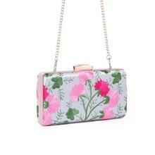 LUXY MOON Evening Bags New Arrival Lady Clutch Silk Embroidery Flower Women's Wedding Purse Wallet Shoulder Bag Ethnic Bag ZD776