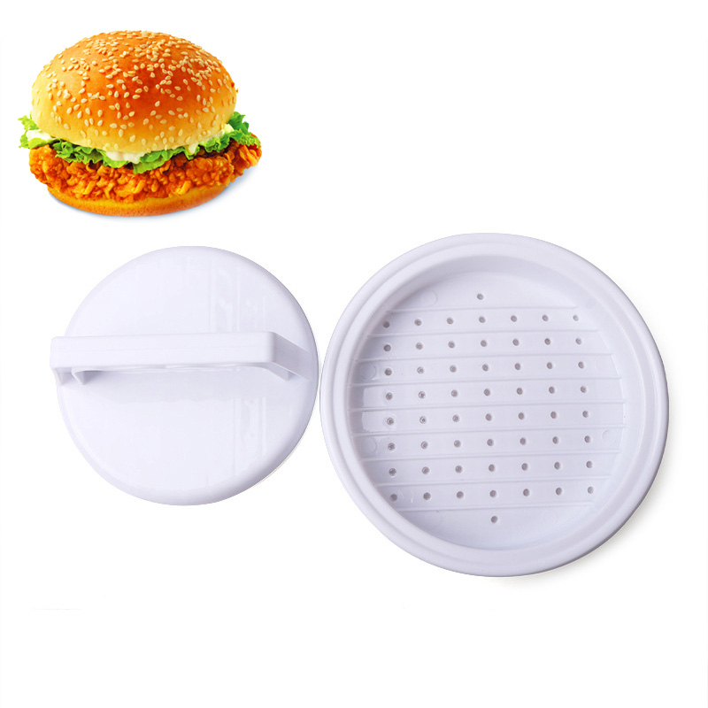2018 Creative plastic hamburger meat beef maker grill burger press mold kitchen utensils foe meat press machine patties - intl