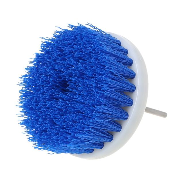 60mm Drill Powered Scrub Drill Brush Head For Cleaning Ceramic Shower Tub Carpet F5H6 3