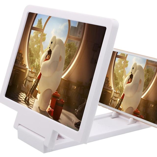 Lupas Lupa Lupa 3D Vídeo Da Tela Do Telefone Móvel Protetor Ocular Multi-função de Suporte para o iphone X xiaomi HTC