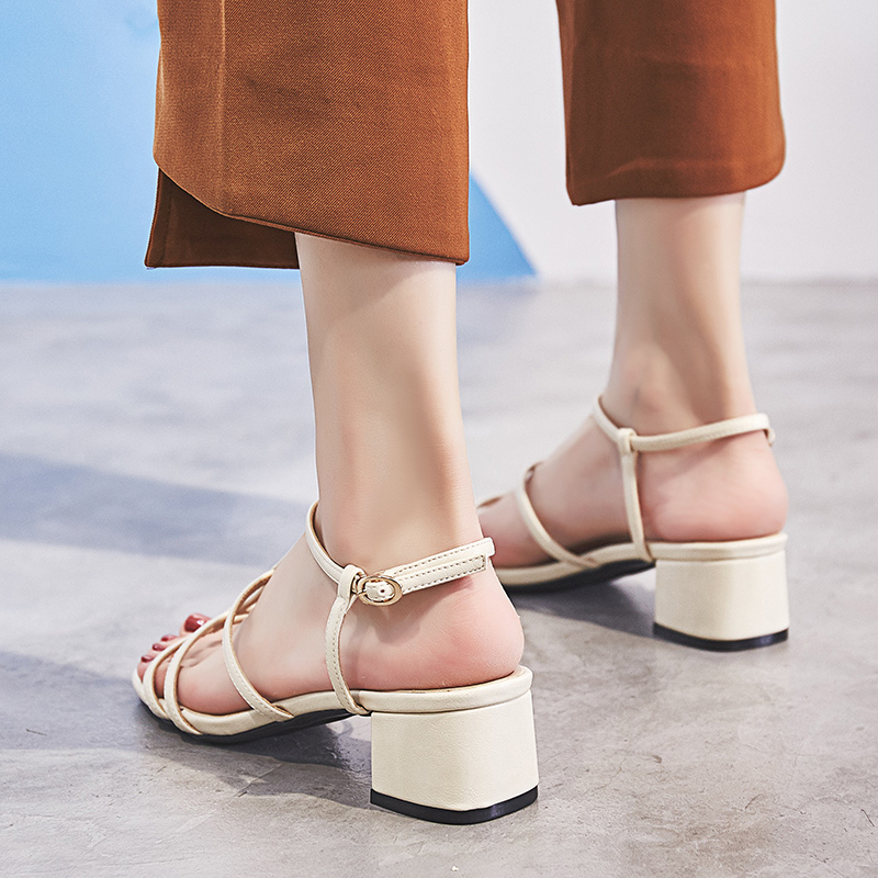 35 962 Pu W Qualité 962 Carré 6w Femmes Mode Chaussures 6 Beige 6w Taille 39 Sandales Dames De Talon Pour 962 Brown Rome MqVjSUzpGL