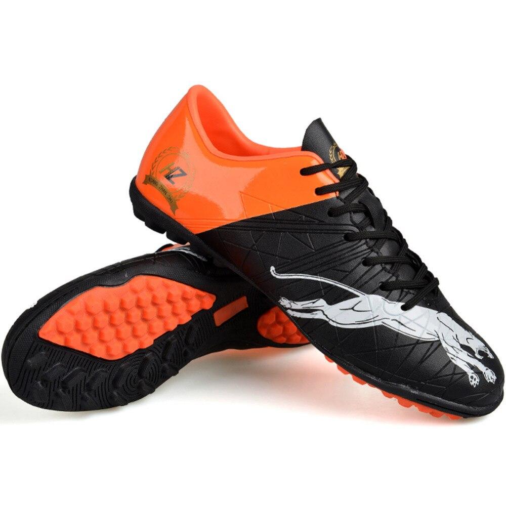 Heren Professhional Voetbal Schoenplaatjes Laarzen Turf Voetbalschoenen Harde Hof Buiten Sneakers Trainers Volwassenen Sportschoenen chuteiras