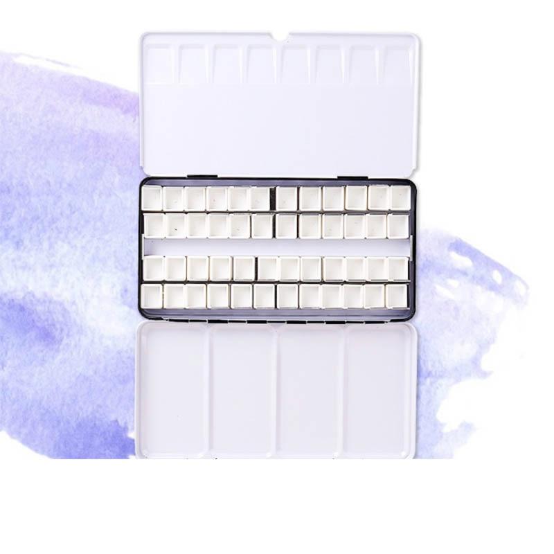 Watercolor Paints Tins Box Palette Painting Storage Paint Tray Palette  Paint Box For Art Supplies