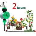 Домашний таймер для воды  водонепроницаемый автоматический таймер для полива сада  механический таймер на 2 часа