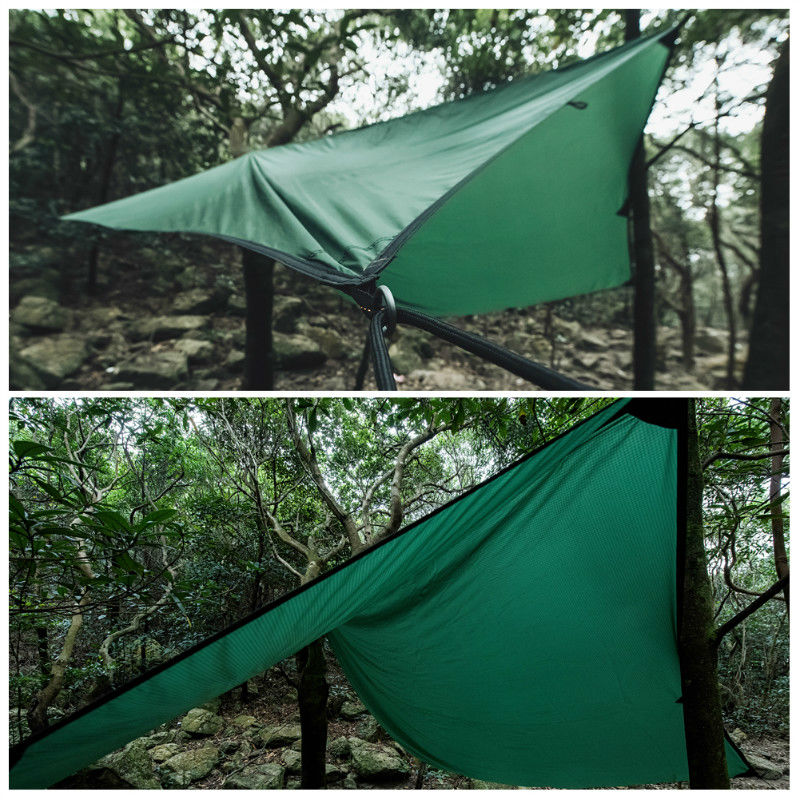 Actual picture of the camping and beach tent