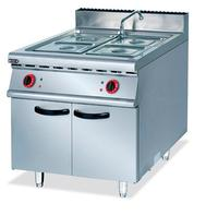Commercial Super Quality Stainless Steel Eletric Bain Marie With Cabinet Kitchen Soup Heating Equipment