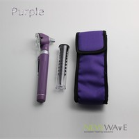 Multi Purpose Mini Otoscope Fiber Opitc Is LED Light Bulb Warm Or White With Pouch 6