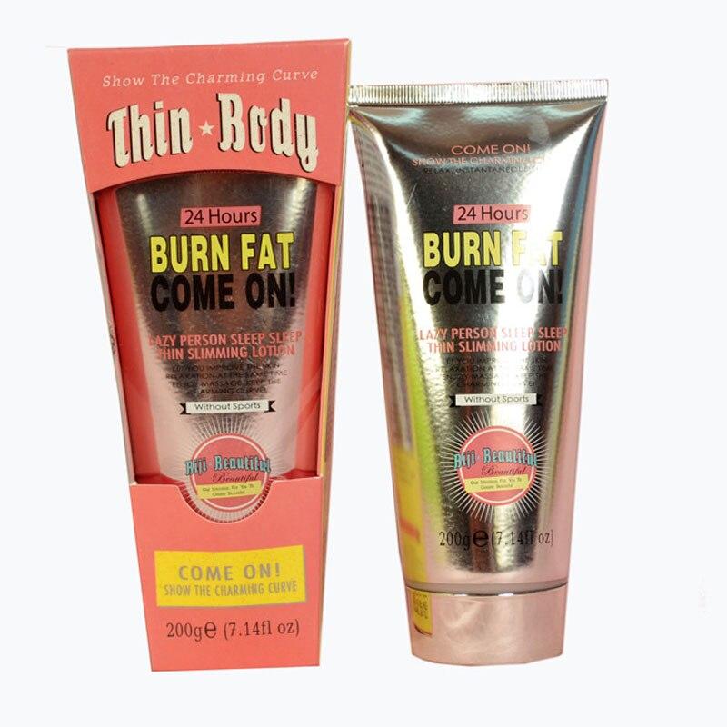 Body Slimming Cream 200G Burn Fat Body Weight Loss Leg Arm Buttock Thin Abdomen Skin Care Ointment Massage B32