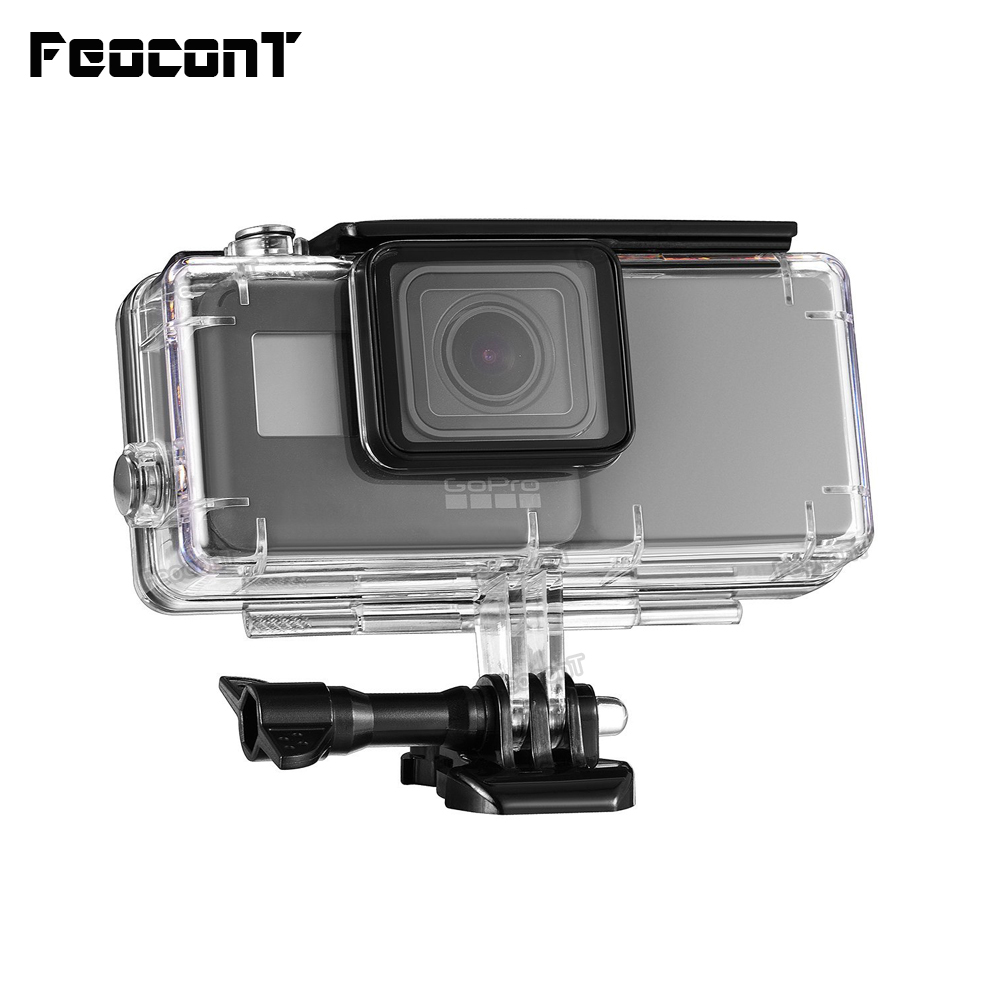 FeoconT Extended Battery for GoPro 5 Go Pro 6 كفر حماية - كاميرا وصور