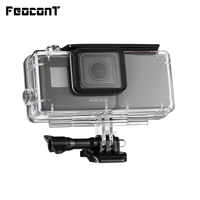 FeoconT Extended Battery For GoPro 5 Go Pro 6 Waterproof Protective Case Diving Housing Shell with Side Power Bank
