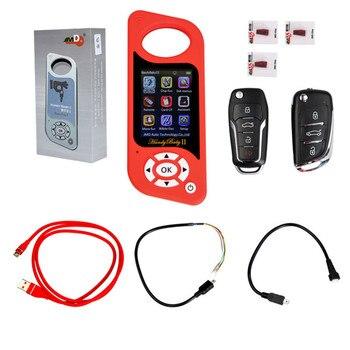Удобный 2 II Ключевые программист Ручные ключа автомобиля прибор смартключ для 4D/46/48 фишек 96bit 48 функция английский, испанский красный
