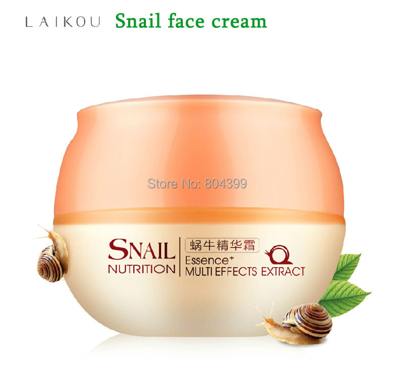 Snail Cream Face Care Skin Treatment Reduce Scars Acne Pimples ...