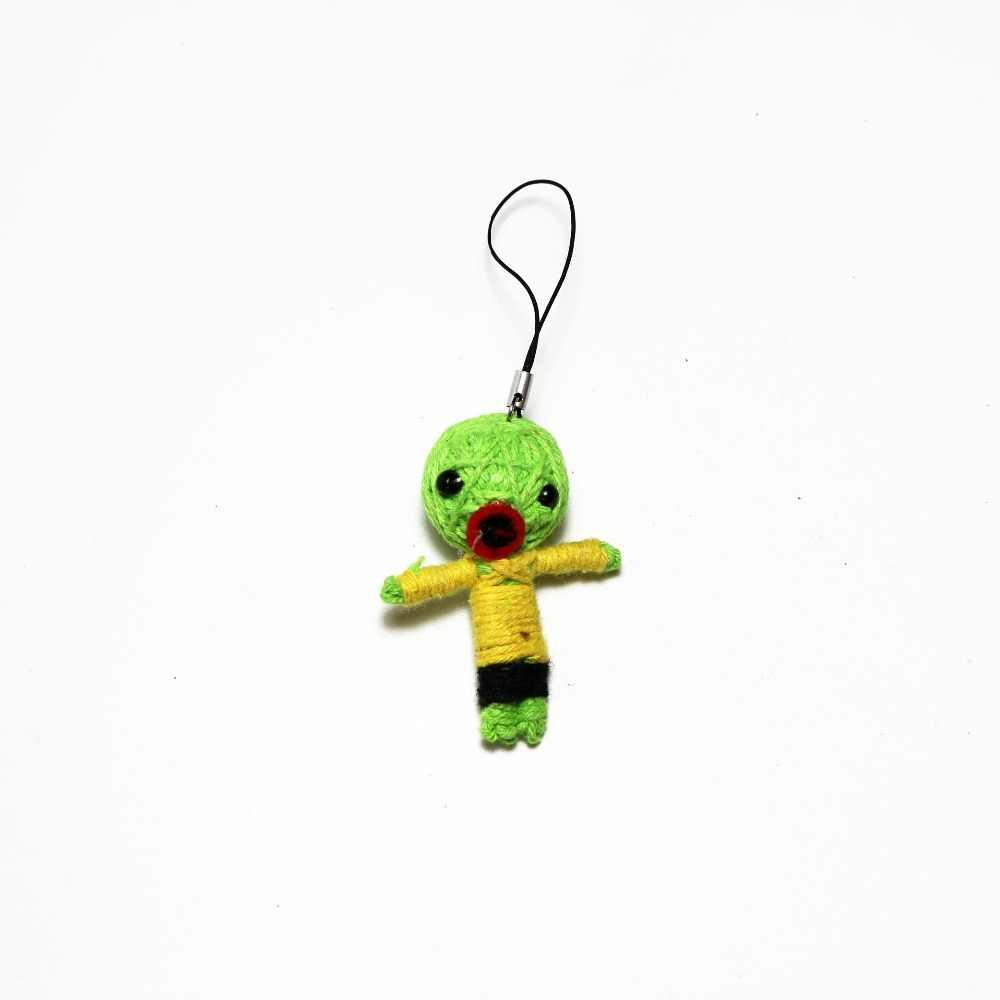 Handmade Sasuki in Naruto  Voodoo String Doll Keychain Ornament Accessory