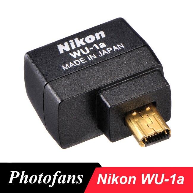 Nikon WU-1a wu1a adaptateur Mobile sans fil pour Nikon D3200 D3300 D5200 D7100 DF