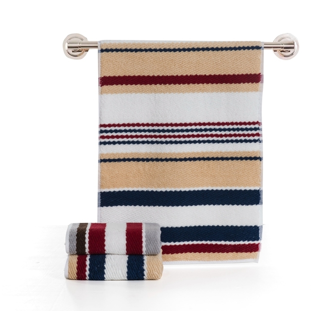 Best Home Bathroom Face Hand Striped Towel Striped Outdoor and Travel Towels  High Absorbent Line Bath