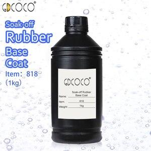 Image 3 - CANNI Supply Soak off UV/LED No Wipe Top Coat Bulk Package 1kg GDCOCO Durable Gel Nail Beauty Salon Using Base Coat Top Coat