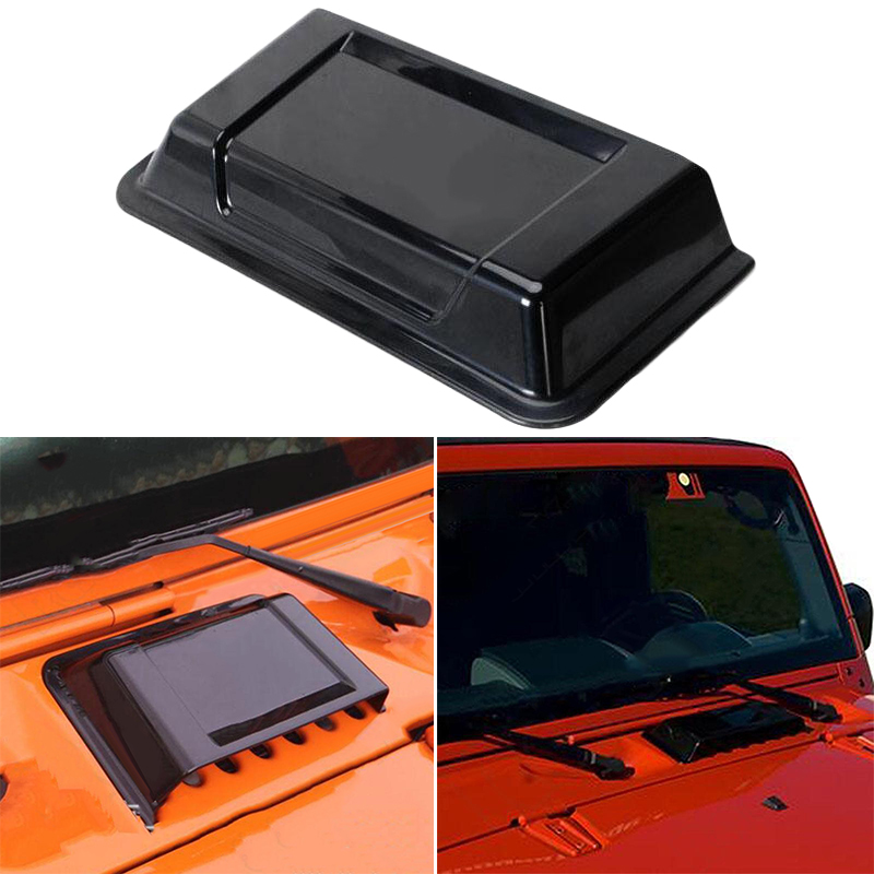 Image 2 - ABS Plastic For 98 18 Jeep Wrangler TJ JK Air Vent Hood Cowl New Hot Durable-in Exterior Door Panels & Frames from Automobiles & Motorcycles