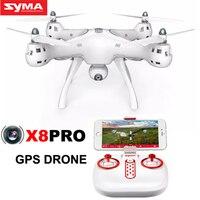 SYMA X8PRO RC Смарт Drone Selfie дистанционного Управление самолет с Камера Wi Fi FPV редуктором gps Функция Управление Лер вертолет