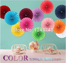 "Free Shipping 12pcs 20cm & 30cm(8""&12"") Mixed Size Singler-Layer Paper Fans Frozen Birthday Supplies,Wedding Decoration"