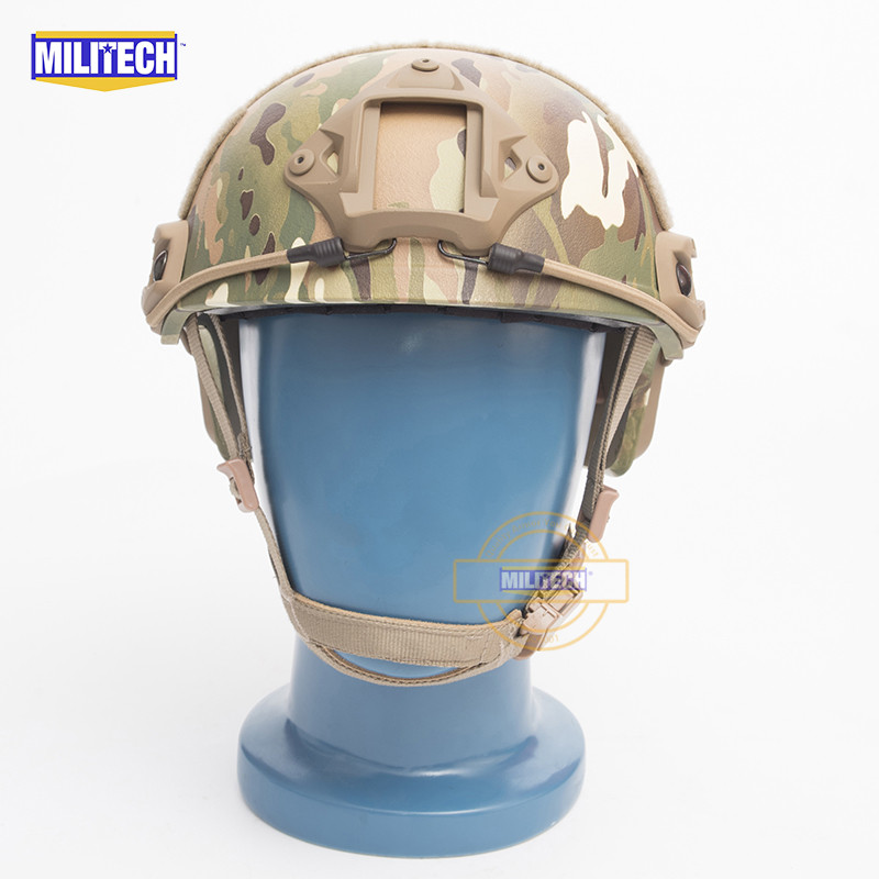 MILITECH FAST Multicam FA Style Super ABS Airsoft Tactical Helmet Ops Core Style High Cut Training Helmet Ballistic Style Helmet