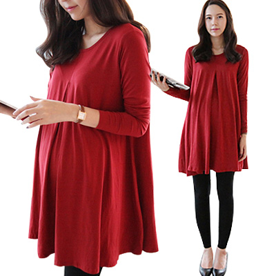 0a116f1f3d4 Free Shipping Maternity Casual Dress For Pregnant Women Novelty Cute  Chiffon Dress Clothes Maternity Clothing Knee-length Dress
