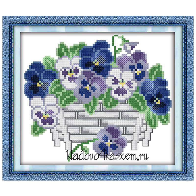 Wholesale Needlework,Stitch,DIY 11CT 14CT DMC Cross Stitch,Sets For Embroidery Kits,Butterfly orchid Counted Cross-Stitching