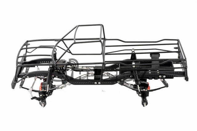 1/10 Scale Metal Frame Chassis Axle Roll Cage for RC4WD