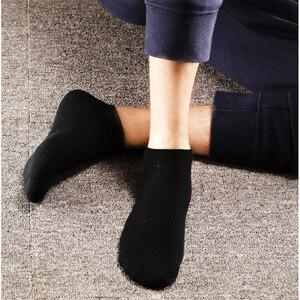 Image 5 - 5 paar/partij Xiaomi Mijia 365 slijtage Casual Mannen Sokken Katoenen Sokken Korte Onzichtbare Slippers Mannelijke Ondiepe Mond No Show Sok