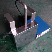 submersible ultrasonic cleaner 40khz 1000W transducer and generator for parts cleaning