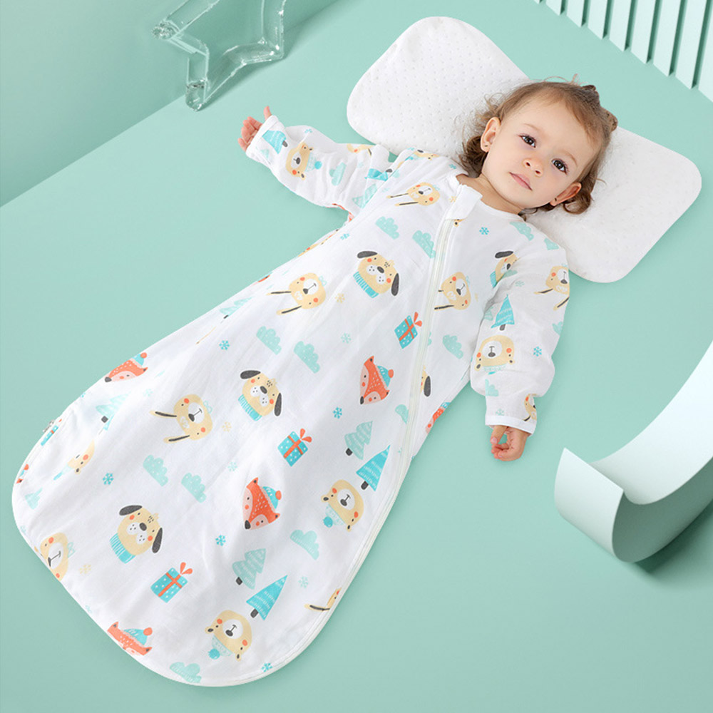 7030efabf New Toddler Baby Infant Cotton Blankets Sleeper Gowns Wearable Blankets  Long Sleeves Warm Sleeping Bags Sack ~ Best Deal June 2019
