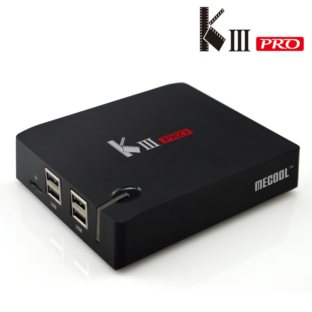 Neueste Amlogic S912 KIII PRO <font><b>Octa</b></font> core <font><b>DVB</b></font> <font><b>T2</b></font>/<font><b>DVB</b></font> S2 <font><b>Android</b></font> 6.0 TV Box WiFi Bluetooth4.0 smart Media-Player image