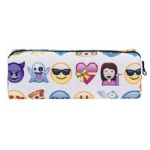 emoji pencil case cartoon etui kawaii baggage cute papeterie pen pennenzak pencilcase children estuche lapices estuches de colegio