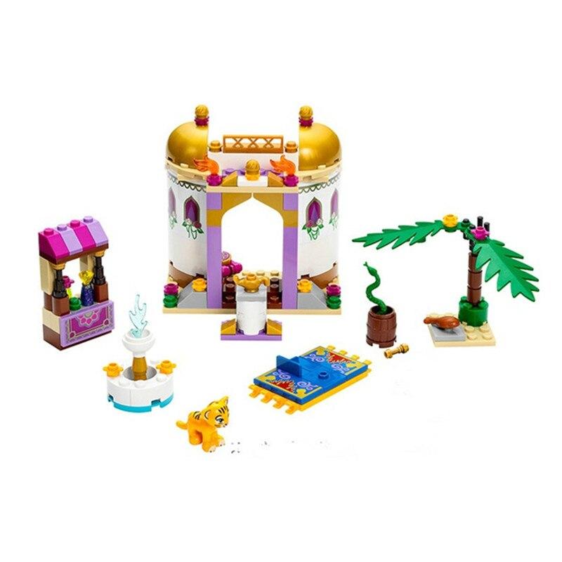 145 Pcs 10434 Princess Series Jasmine's Exotic Palace Building Brick Blocks Girls Toys Compatible Kids Toys Gift