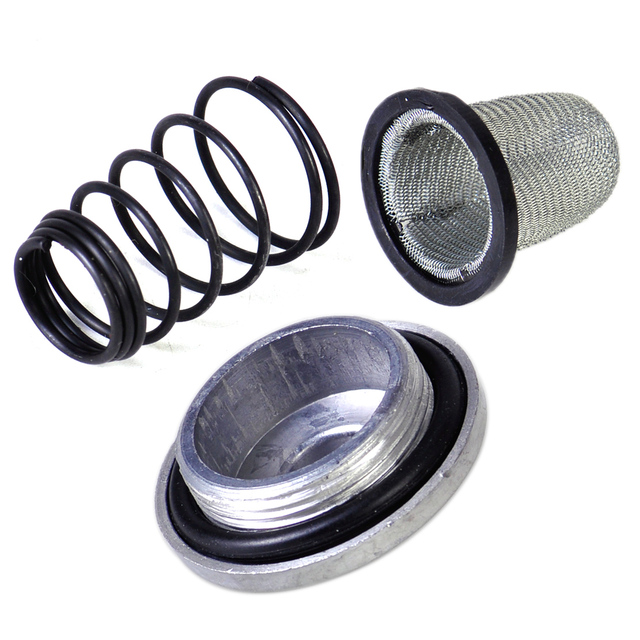 US $2 59 48% OFF|DWCX Motorcycle Scooter Oil Filter Drain Strainer Plug Set  Kit fit for GY6 50cc 125cc 150cc Chinese Moped Baotian Benzhou Taotao-in