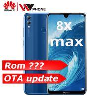 Huawe Honor 8X Max 7.12'' big Screen OTA update Smartphone Dual Camera Android 8.1 Octa Core 4900mAh battery fingerprint ID
