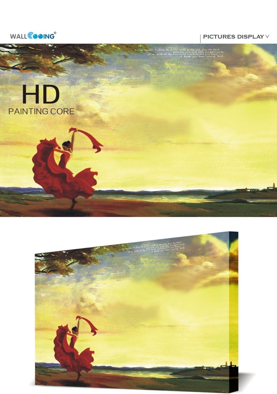 Canvas painting cuadros arboles Spanish Dancers image wall modern ...