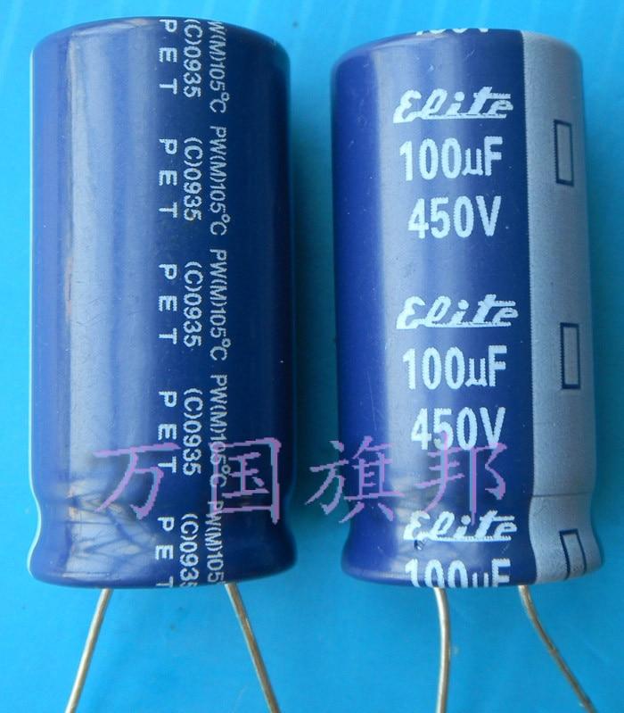 Бесплатный электролитический конденсатор Delivery.450 в, в 100 году в университета Флориды в 100 году
