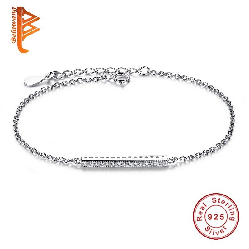 Original 925 Sterling Silver European Charm font b Bracelet b font Austrian Crystal Beads font b