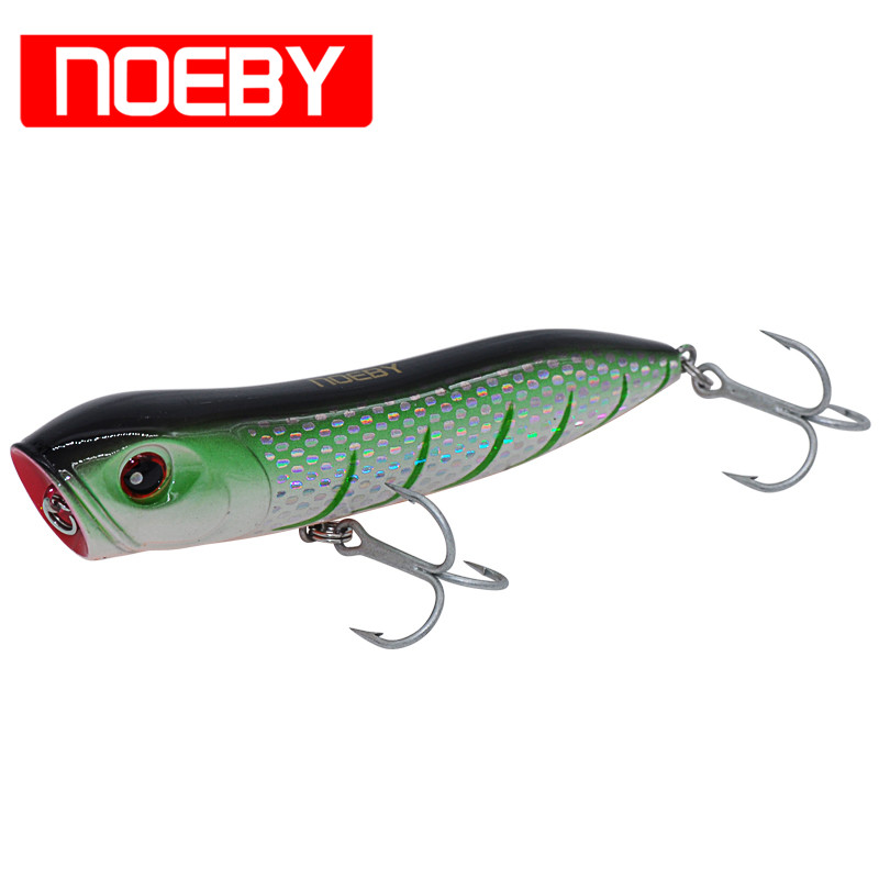 Noeby Popper Bait 110mm/26g VMC Treble Hook Top Water Fishing Lure Fishing Tackle Isca Artificial Para Pesca Leurre Souple 1pcs fishing lure bait minnow with treble hook isca artificial bass fishing tackle sea japan fishing lure 3d eyes