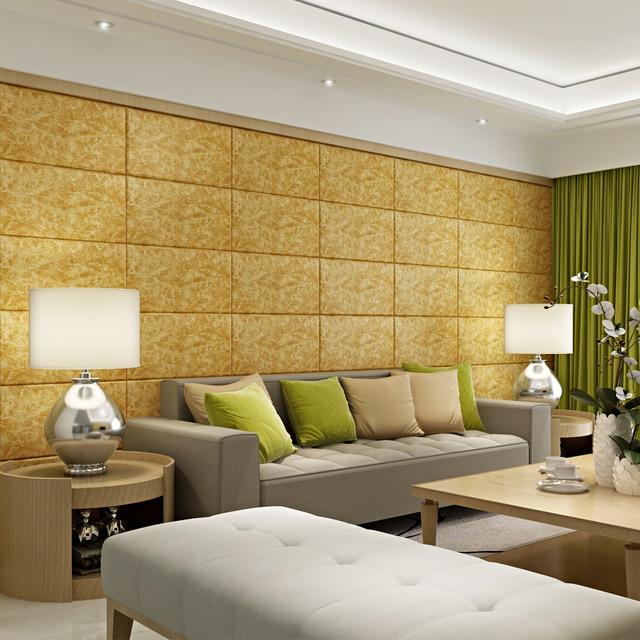 Marmor 3D Aufkleber Klebeband TV Hintergrund Wand Wohnzimmer Schlafzimmer  Dekoration Ziegel Tapete Wasserdichte