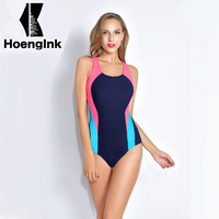 2017 BRANDMAN New women's professional Siamese swimsuit beach without back piece of swimming pool Plus swimsuit size S to 3XL