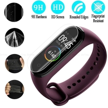 5Pcs Protective Film For Xiaomi Mi Band 4 Smart Wristband Bracelet Full Screen Soft Protector 3 2 Not Glass